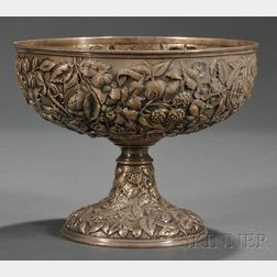 Whiting Manufacturing Co. Sterling Repousse Fruit Bowl