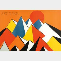 Alexander Calder (American, 1898-1976)      Homage to the Sun