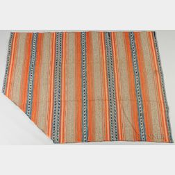 Large Hand-loomed Wool Rug