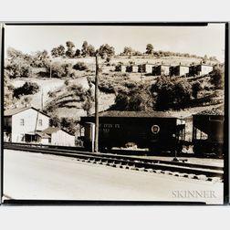 Walker Evans (American, 1903-1975)       Mining Camp, Osage, West Virginia