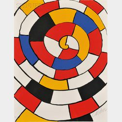 Alexander Calder (American, 1898-1976)      Image from the MAGIE EOLIENNE   Suite