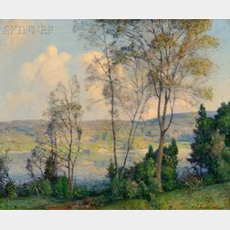 William Jurian Kaula (American, 1871-1953)      Over the Pond, New Ipswich, New Hampshire