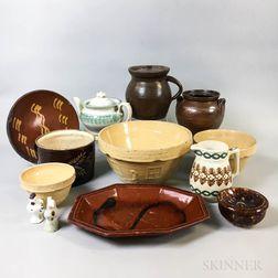 Thirteen Ceramic Tableware Items