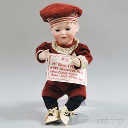 Bahr & Proschild 585 Bisque Head Character Baby