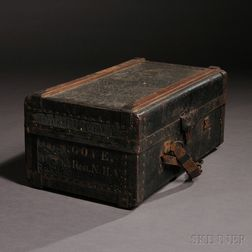 5th New Hampshire Officer's Trunk