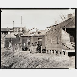 Walker Evans (American, 1903-1975)       House in the Negro Quarter, Vicksburg, Mississippi