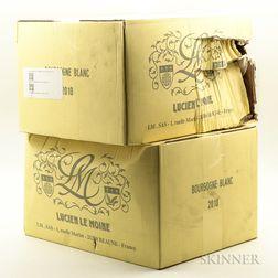 Lucien Le Moine Bourgogne Blanc 2010, 12 bottles (2 x oc)
