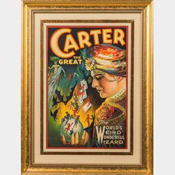 Carter the Great, the World's Weird Wonderful Wizard.
