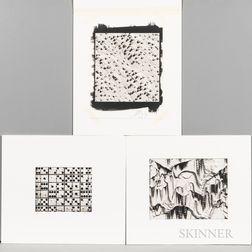 Three Luca Paradisi Platinum Prints
