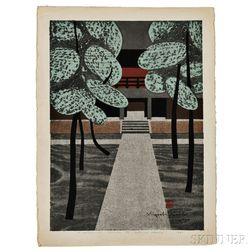 Kiyoshi Saito (1907-1997), Miyoshin-ji Kyoto (A)
