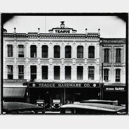 Walker Evans (American, 1903-1975)       Teague Hardware Company Building, Selma, Alabama