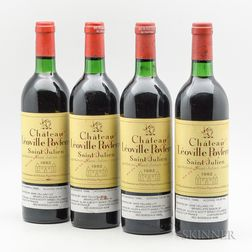 Chateau Leoville Poyferre 1982, 4 bottles