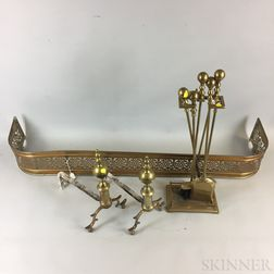 Group of Fireplace Accessories