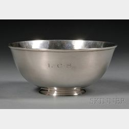 Arthur Stone Associates Sterling Fruit Bowl