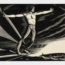 Rockwell Kent (American, 1882-1971)      Home Port