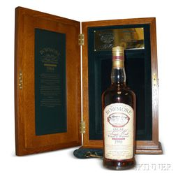 Bowmore Trilogy Bourbon 38 Years Old 1964, 1 750ml bottle (owc)