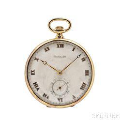 Mappin & Webb 18kt Gold Open-face Watch