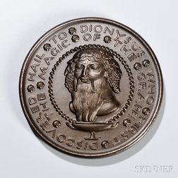 Paul Manship (American, 1885-1966) Hail to Dionysus   Bronze Medal