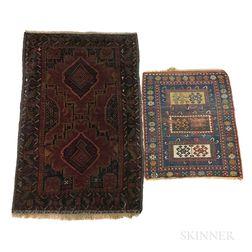 Two Sarouk Rugs