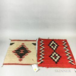 Three Small Navajo Blankets