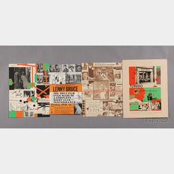 Richard Marshall Merkin (American, b. 1938) Lot of Four Prints: Poster for The Film-Makers ...