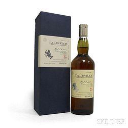 Talisker 25 Years Old, 1 750ml bottle (oc)