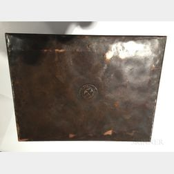 Gustav Stickley Model 4685 Copper Humidor