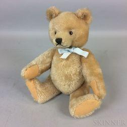 Blonde Mohair Teddy Bear