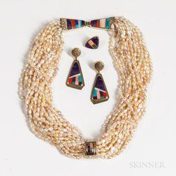 Hopi Baroque Pearl Necklace