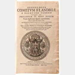 Vred, Olivarius (fl. circa 1640) Genealogia Comitum Flandriae.