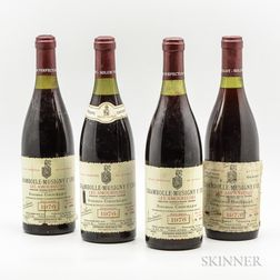 Grivelet Chambolle Musigny Les Amoureuses Reserve Numerotee, 4 bottles