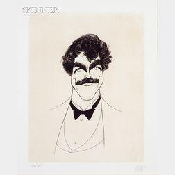 Albert Hirschfeld (American, 1903-2003)      Lot of Three Portraits: Marcel Marceau