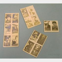 Sixteen 1940s Photographic Collector Cards