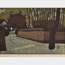 Kiyoshi Saito (1907-1997), Obakusan Uji (B)