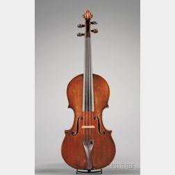Neapolitan Violin, Ascribed to Gagliano Family