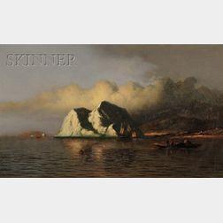 William Bradford (American, 1823-1892)      The Coast of Labrador