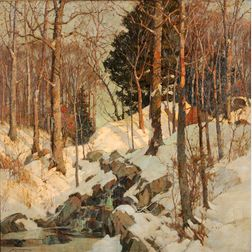 Frederick John Mulhaupt (American, 1871-1938)      Winter's Jewels