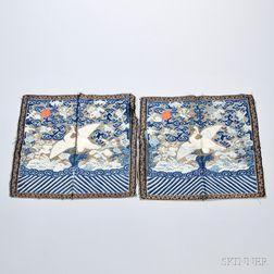 Pair of Kesi Rank Badges