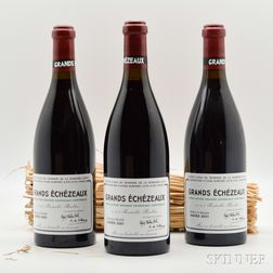 Domaine de la Romanee Conti Grands Echezeaux 2001, 3 bottles