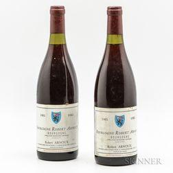 Robert Arnoux Bourgogne 1985, 2 bottles