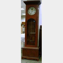 Seth Thomas Regulator Clock in a Cherry Tall Clock Case