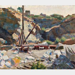 Agnes Anne Abbot (American, 1897-1992)      Rockport Quarry