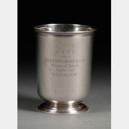 Enkso Sterling Colonial-style Trophy Beaker