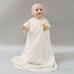 Large Armand Marseille 326 Bisque Head Character Baby
