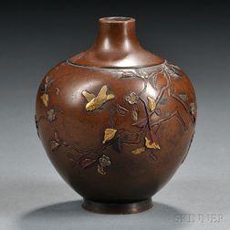Mixed-metal Vase
