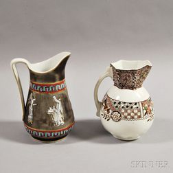 Two Ceramic Pitchers