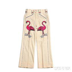 Hank Snow     One Pair of Cream Nudie Pants