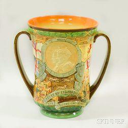 Royal Doulton Commemorative George VI and Queen Elizabeth Coronation Loving Cup
