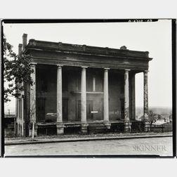 Walker Evans (American, 1903-1975)       Abandoned Antebellum Plantation House, Vicksburg, Mississippi