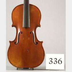 French Violin, Gustave Bernardel, Paris, 1901